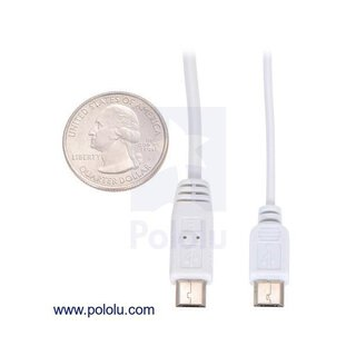 Pololu USB Cable A to Micro-B, 1.8m