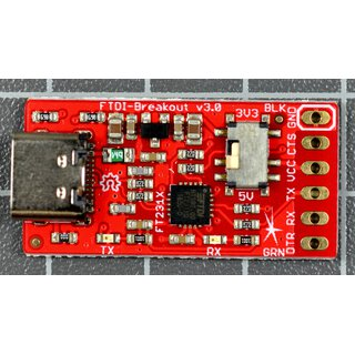 FTDI Breakout (FT231X) V3.0 - USB-Serial-Converter (light)