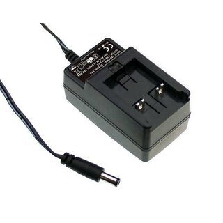 MEAN WELL 12W AC-DC plug power supply adapter GE12I05-P3A
