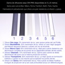 Diffuser easy-ON for LED profile MILAN/ MILAN SLIM/ ROME/...