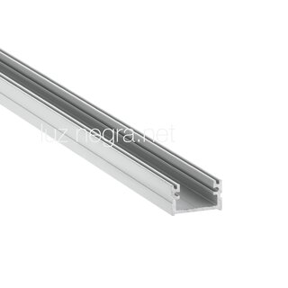 Aluminum profile ROME, silver anodized, 16x11mm, IP65 - 2m