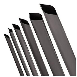 Shrink Tubing 2:1 1,6mm 1PKU=15m Black