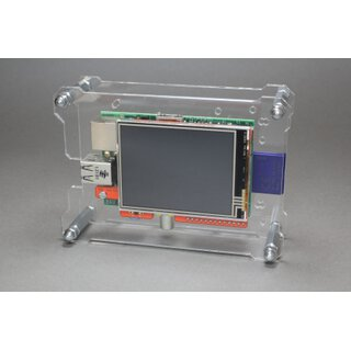 OpenDisplayCase Front for RPi-Display 2.8 Touch-Display