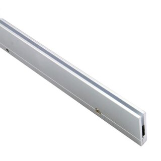 Aluminum profile CHICAGO, silver anodized, 6.1x25mm - 1m