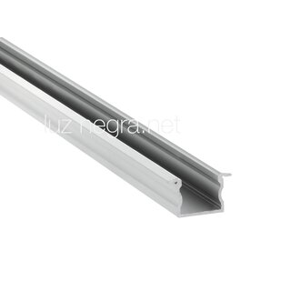 Aluminum profile PHILADELPHIA, white lacquered, 23x14.5mm - 6m