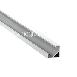 aluminum profile TEXAS, silver anodized, 18.5x18.5mm - 2m
