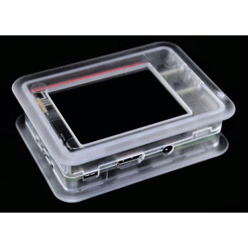 TEK-BERRY3 Gehäuse - transparent (mit Ausschnitt für RPi-Display)
